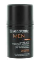 Активный увлажняющий матирующий бальзам / Academie Men Active Moist & Matifying Balm