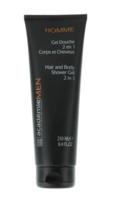 Гель-душ 2 в 1 для тела и волос / Academie Men Hair And Body Shower Gel 2 In 1