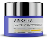 Дерматологический обновляющий крем с 8% миндальной, 2% салициловой кислотой, отшелушивает ороговевшие клетки кожи, нормализует секрецию сальных желез / Arkana Mandelic Recovery Cream