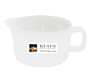 Массажная арома свеча Арган и Золото / Kuo's Professional Candle of Massage scent Argan&Gold