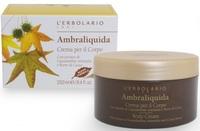 """Ароматизированный крем для тела """"Легкая амбра"""" / L'Erbolario Ambraliquida Crema Per Il Corpo"""