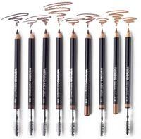 Пудровый карандаш для бровей с щеточкой / ViSTUDIO Eyebrow Pencil