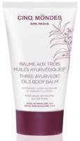 Бальзам для тела / Cinq Mondes Three Ayurvedic Oils Body Balm