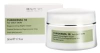 Лечебный кислотно-ретиноловый крем «Пуридерма 18» для проблемной кожи с акне и демодекозом (ночной) / Beauty Spa Puriderma18