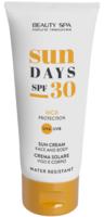 Высокая защита - крем Сан Дейс SPF 30 / Beauty Spa Sun Days SPF 30