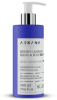 Бальзам для ухода за сухой кожей рук и тела / Arkana Neuro Cannabis Hand & Body Balm