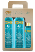 Набор для ухода за влосами с алоэ / CHI Aloe Vera Curl Care Kit Set
