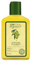 Шелковое масло с оливой / CHI Organics Olive & Silk Hair and Body Oil