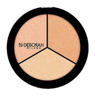 Хайлайтер для лица Трио / Deborah Highlighter Trio Palette