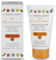 Детский солнцезащитный крем / L'Erbolario Piccolosole Creme Solare SPF 50+