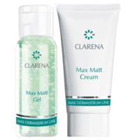 Дорожный мини набор / Clarena Max Matt Effect