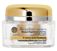 Омолаживающая маска для лица с частицами золота / Rexaline X-treme Gold Radiance 24 K