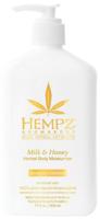 Молочко для тела увлажняющее Молоко и Мед / Hempz Milk & Honey Herbal Body Moisturizer