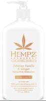 Увлажняющий крем после загара в солярии или на солнце / Hempz Tahitian Vanilla and Ginger Herbal Body Moisturizer