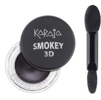 Тени для век с аппликатором / Karaja Smokey 3D