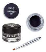 Тени для век с кисточкой / Karaja Smokey 3D