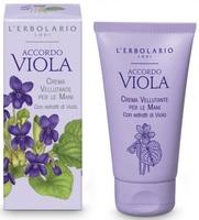 "Крем для рук ""Фиалка"" / L'Erbolario Crema Accordo Viola"