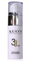 Крем солнцезащитный для лица SPF 30 / Kuo's Professional Facial Sunscreen SPF 30