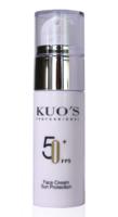 Крем солнцезащитный для лица SPF 50+ / Kuo's Professional Facial Sunscreen FPS 50+