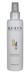 Масло для загара SPF 5 / Kuo's Professional Intense Tanning Oil SPF 5