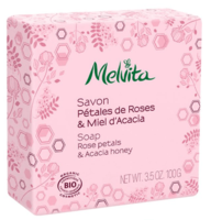 "Мыло ""Роза и акация"" / Melvita Rose Petals & Acacia Honey Soap"