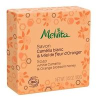 "Мыло ""Ромашка и Оранжевый мед"" / Melvita Soap White Camellia & Orange Blossom Honey"