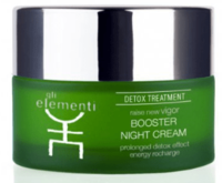 Ночной крем для лица / GLI Elementi Detox line Booster Night Cream