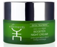 Ночной крем для лица / GLI Elementi Detox line Booster Night Cream