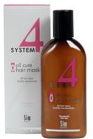 Терапевтическая маска для пилинга кожи головы О для кожи головы / Sim Sensitive System 4 Oil Cure