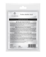 Очищающая пузырьчастая биоцеллюлозная маска с пробиотиками / Clarena Immun Balance Line Probio Bubble Mask