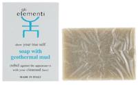 Очищающее мыло на основе геотермальной грязи / GLI Elementi Soap With Geothermal Cleansing Mud