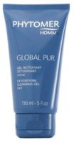 Очищающий гель для выведения токсинов / Phytomer Homme Global Pur Detoxifying Cleansing Ge