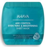 Освеляющая омолаживающая тканевая маска / Ahava Age Control Even Tone & Brightening Sheet Mask