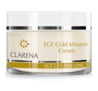 Пептидный крем-мусс с коллоидным золотом и BIO-плацентой / Clarena Gold Mousse Cream