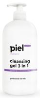 Демакияж-гель для умывания нормальной и комбинированной кожи / Piel Cosmetics Cleansing Gel 3 in 1
