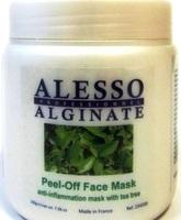 Противовоспалительная альгинатная маска Alessо с маслом чайного дерева