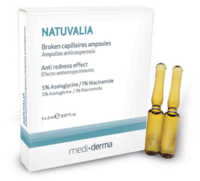 Сыворотка в ампулах с антикуперозным эффектом / Sesderma Natuvalia Anticouperosis