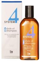 Шампунь №4 для очень жирной, чувствительной и раздраженной кожи головы / Sim Sensitive Shale Oil Shampoo №4