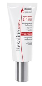 Увлажняющий, снимающий усталость, успокаивающий крем для кожи вокруг глаз / Rexaline Derma Eye Contour