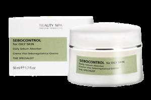 Матирующий безлипидный крем-эмульсия «СебоКонтроль» для комбинированной и жирной кожи / Beauty Spa Sebocontrol