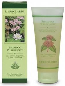 Шампунь с мятой и витамином Е / L'Erbolario Shampoo Purificante