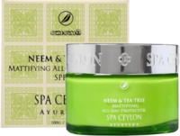 Дневной протектор для лица SPF5 / Spa Ceylon Neem & Tea Tree Mattifying All-Day Protector