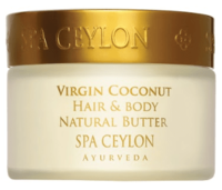 Натуральный баттер для волос и лица / Spa Ceylon Virgin Coconut Hair & Body Natural Butter