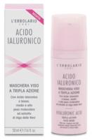 Маска для лица Гиалуроновая кислота / L'Erbolario Acido Ialuronico Maschera