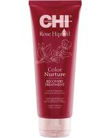 Восстанавливающая маска для окрашенных волос с маслом розы и кератином / CHI Rose Hip Oil Color Nurture Recovery Treatment