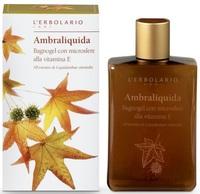 """Защитный гель для душа """"Легкая амбра"""" / L'Erbolario Ambraliquida Bagnogel alla Vitamina E"""